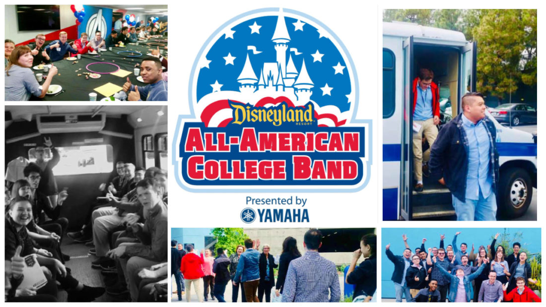 2019 Disneyland Resort All-American College Band Arrives at Disneyland Resort to Prepare for Summer Performances